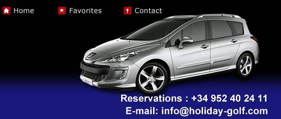 Car Hire Malaga Rent A Car Holiday Golf